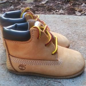 Timberland Infant Crib Booties